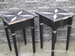 Acrylic Black Side Table