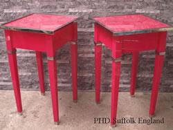 Acrylic Red Tables